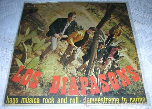 LOS DIAPASONS - HAGO MUSICA DE ROCK AND ROLL - SINGLE RCA 1976 (Música - Discos - Singles Vinilo - Grupos Españoles 50 y 60)