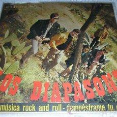 Discos de vinilo: LOS DIAPASONS - HAGO MUSICA DE ROCK AND ROLL - SINGLE RCA 1976. Lote 43932630