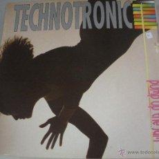 Discos de vinilo: MAGNIFICO LP DE - TECHNOTRONIC -. Lote 43933406