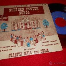 Discos de vinilo: JUANITA HALL AND CHOIR OH SUSANA/OLD BLACK JOE +3 EP ROYALE USA AMERICANO STEPHEN FOSTER. Lote 43933545
