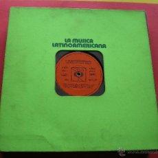 Discos de vinilo: LA MUSICA LATINOAMERICANA-JORGE CAFRUNE-CUCO SANCHEZ-EDYE GORME-JAVIER SOLIS-3 LP PEPETO. Lote 43934171