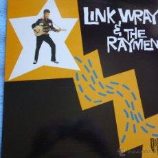 Discos de vinilo: LINK WRAY & THE RAYMEN,REDICION INGLESA DEL 85. Lote 43941973