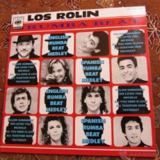Discos de vinilo: MAXI-SINGLE VINILO LOS ROLIN-TITULO RUMBA BEAT-ORIGINAL DEL 91-2 TEMAS- ¡¡¡NUEVO A ESTRENAR¡¡¡. Lote 43943673