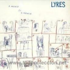 Discos de vinilo: LYRES - A PROMISE IS A PROMISE ( LP REEDICIÓN MUNSTER RECORDS ) GARAGE 80S. Lote 190645932