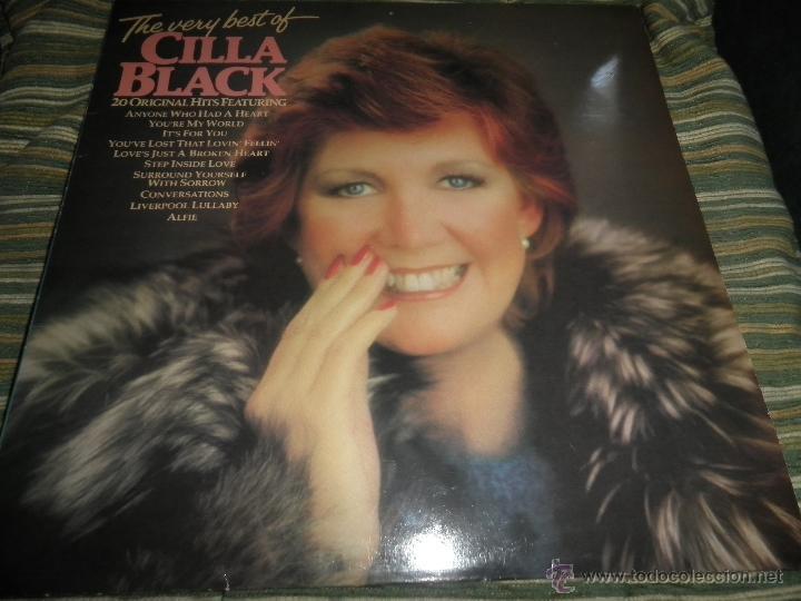 CILLA BLACK - THE VERY BEST OF LP - EDICION INGLESA - PARLOPHONE/EMI RECORDS 1983 - STEREO - (Música - Discos - LP Vinilo - Pop - Rock Extranjero de los 50 y 60)