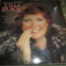Discos de vinilo: CILLA BLACK - THE VERY BEST OF LP - EDICION INGLESA - PARLOPHONE/EMI RECORDS 1983 - STEREO -. Lote 43952104