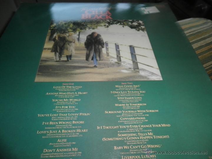 Discos de vinilo: CILLA BLACK - THE VERY BEST OF LP - EDICION INGLESA - PARLOPHONE/EMI RECORDS 1983 - STEREO - - Foto 7 - 43952104