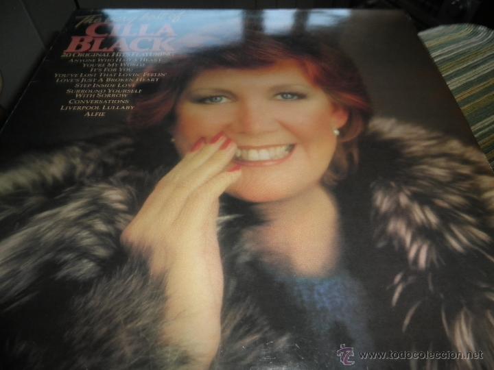 Discos de vinilo: CILLA BLACK - THE VERY BEST OF LP - EDICION INGLESA - PARLOPHONE/EMI RECORDS 1983 - STEREO - - Foto 8 - 43952104