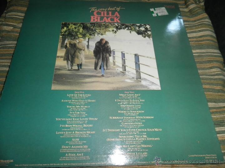 Discos de vinilo: CILLA BLACK - THE VERY BEST OF LP - EDICION INGLESA - PARLOPHONE/EMI RECORDS 1983 - STEREO - - Foto 18 - 43952104