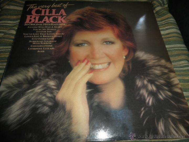 Discos de vinilo: CILLA BLACK - THE VERY BEST OF LP - EDICION INGLESA - PARLOPHONE/EMI RECORDS 1983 - STEREO - - Foto 19 - 43952104