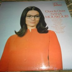 Discos de vinilo: NANA MOUSKOURI - OVER & OVER LP - ORIGINAL INGLES - FONTANA RECORDS 1969 - STEREO -. Lote 43953762