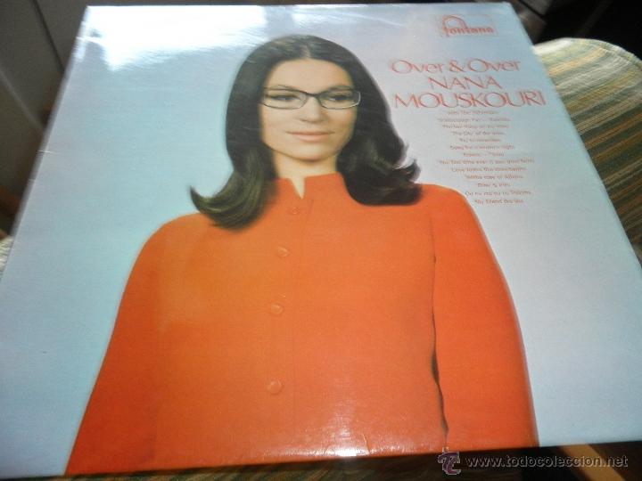 Discos de vinilo: NANA MOUSKOURI - OVER & OVER LP - ORIGINAL INGLES - FONTANA RECORDS 1969 - STEREO - - Foto 10 - 43953762