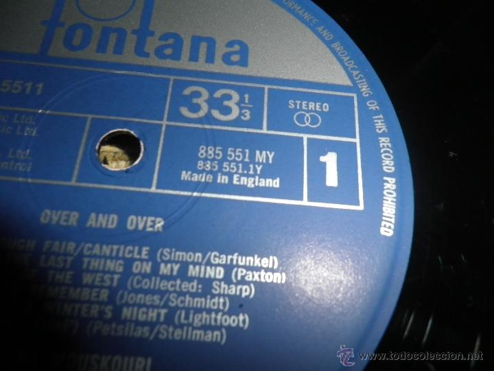Discos de vinilo: NANA MOUSKOURI - OVER & OVER LP - ORIGINAL INGLES - FONTANA RECORDS 1969 - STEREO - - Foto 15 - 43953762