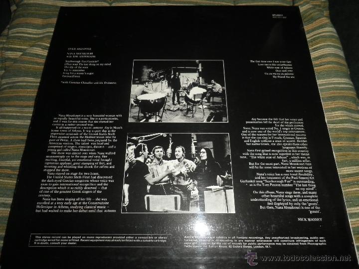 Discos de vinilo: NANA MOUSKOURI - OVER & OVER LP - ORIGINAL INGLES - FONTANA RECORDS 1969 - STEREO - - Foto 19 - 43953762