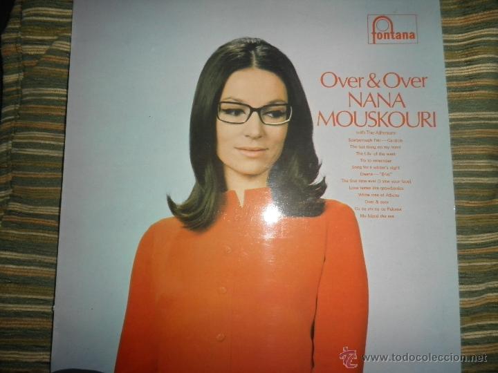 Discos de vinilo: NANA MOUSKOURI - OVER & OVER LP - ORIGINAL INGLES - FONTANA RECORDS 1969 - STEREO - - Foto 20 - 43953762
