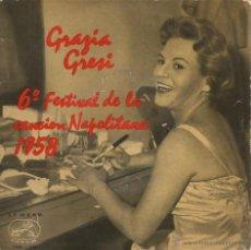Disques de vinyle: EP GRAZIA GRESI : ROSI TU SEI L´AMORE. Lote 43964138