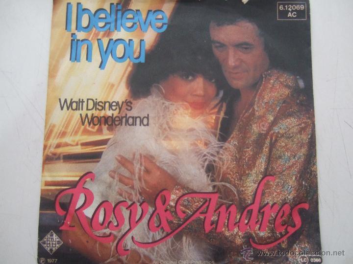 ROSY & ANDRES I BELIEVE IN YOU-WALT DISNEY'S WONDERLAND (Música - Discos - LP Vinilo - Otros estilos)