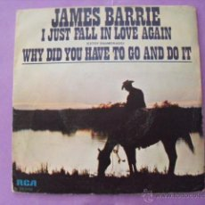 Discos de vinilo: JAMES BARRIE. SINGLE.. Lote 43966966