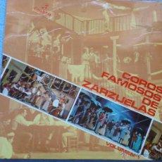 Discos de vinilo: ATAULFO ARGENTA,COROS FAMOSOS DE ZARZUELA VOL.1 DEL 69. Lote 43970176