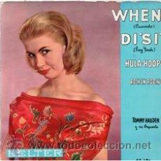 Discos de vinilo: TOMMY HALLDEN Y SU ORQUESTA, WHEN. Lote 57445651