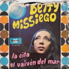 Discos de vinilo: BETTY MISSIEGO. Lote 43970938