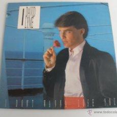 Discos de vinilo: DAVID LYME - I DON'T WANNA LOSE YOU. Lote 43978205