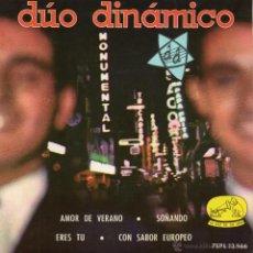 Discos de vinilo: DUO DINAMICO, EP, AMOR DE VERANO + 3, AÑO 1963. Lote 43990380