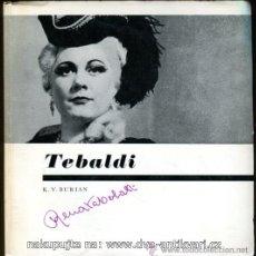 Discos de vinilo: 1958.- TEBALDI-K.V.BURIAN-CONTIENE DISCO-OPERA. Lote 43992884