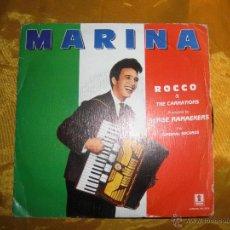 Discos de vinilo: ROCCO GRANATA & THE CARNATIONS. MARINA. DISCO PROMOCIONAL. EPIC 1989. Lote 43993748