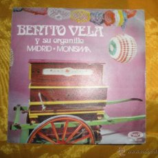 Discos de vinilo: BENITO VELA Y SU ORGANILLO. MADRID / MONISIMA. MOVIEPLAY 1971. VINILO IMPECABLE. Lote 43993789