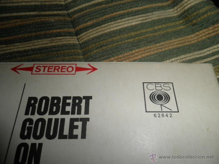 Discos de vinilo: ROBERT GOULET - ON BROADWAY LP - ORIGINAL INGLES - CBS RECORDS 1966 EN STEREO - - Foto 5 - 44002395
