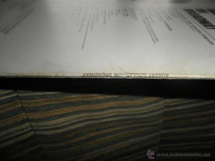 Discos de vinilo: ROBERT GOULET - ON BROADWAY LP - ORIGINAL INGLES - CBS RECORDS 1966 EN STEREO - - Foto 7 - 44002395