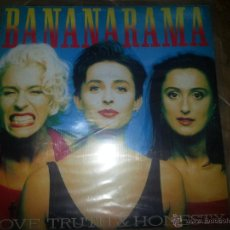 Discos de vinilo: BANANARAMA LOVE TRUTH & HONESTY MAXI SINGLE. Lote 44007555