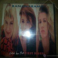 Discos de vinilo: BANANARAMA LOVE IN THE FIRST DEGREE MAXI SINGLE. Lote 44007690