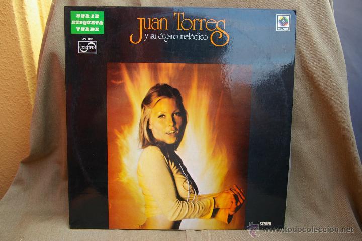 JUAN TORRES Y SU ORGANO MELODICO (Música - Discos - LP Vinilo - Orquestas)
