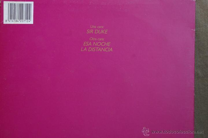Discos de vinilo: LA COARTADA-SIR DUKE-LA NOCHE-LA DISTANCIA- - Foto 2 - 44009163