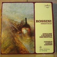 Discos de vinilo: ENRIQUE GARCIA ASENSIO - ROSSINI OBERTURAS - ENSAYO 00-241 - 1979. Lote 44010417