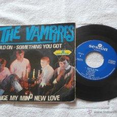 Discos de vinilo: THE VAMPIRES 7´EP SOMETHING YOU GOT + 3 TEMAS (1966) BUENA CONDICION-DIFICIL DE VER-. Lote 44011659