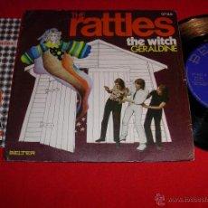 Discos de vinilo: THE RATTLES THE WITCH SPAIN 1970 SINGLE. Lote 44015587