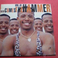 Discos de vinilo: MC HAMMER-HERE COMES THE HAMMER ( 1990 CAPITOL ) MAXI. Lote 44015711