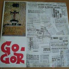 Disques de vinyle: GOGOR LP A GORILA BAYONNE. Lote 51818118