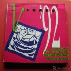 Discos de vinilo: MAXI - VERANO 92 (CAMARON, KETAMA, ANTONIO CARBONELL, JOSE SOTO SORDERITA). Lote 44016996