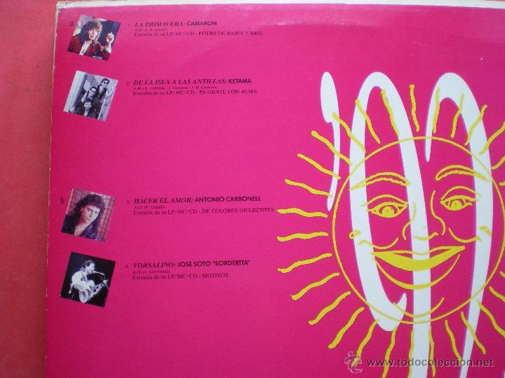 Discos de vinilo: maxi - verano 92 (camaron, ketama, antonio carbonell, jose soto sorderita) - Foto 2 - 44016996