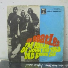 Vinyl-Schallplatten - THE BEATLES - THE BALLAD OF JOHN AND YOKO / OLD BROWN SHOE - EDICION ESPAÑOLA - EMI 1969 - 44019032