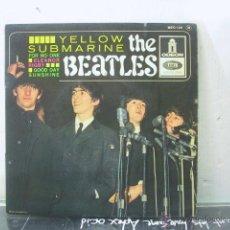 Discos de vinilo: THE BEATLES - YELLOW SUBMARINE / ELEANOR RIGBY + 2 - EDICION FRANCESA - EMI . Lote 44019108