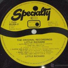 Discos de vinilo: LITTLE RICHARD ( THE ORIGINAL RECORDINGS LITTLE RICHARD ) SIN FUNDA ORIGINAL 1977-GERMANY LP33. Lote 44021667
