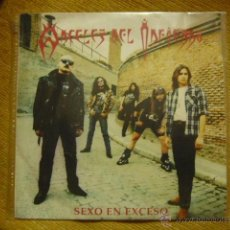 Discos de vinilo: ANGELES DEL INFIERNO- SEXO EN EXCESO. Lote 102270751