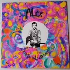Discos de vinilo: ALEX - DEJA DE MIRAR/RECUERDO A AMERICA (ARIOLA MX 1992) SPÑ. Lote 44025064