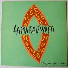 Discos de vinilo: LA MARABUNTA - SOY UN IGNORANTE/DE TRIPAS CORAZON (RCA MX 1993) SPÑ. Lote 44025254