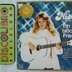 Discos de vinilo: NICOLE - EIN BIBCHEN FRIEDEN - LP 1982 - MADE IN GERMANI (TELDE). Lote 44029779
